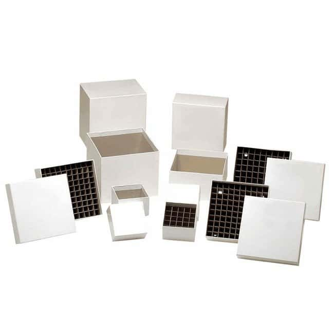 """Cole-ParmerCardboard Freezer Box, 5-1/4"""" x 5-1/4"""" x 2""""; without Divider"""