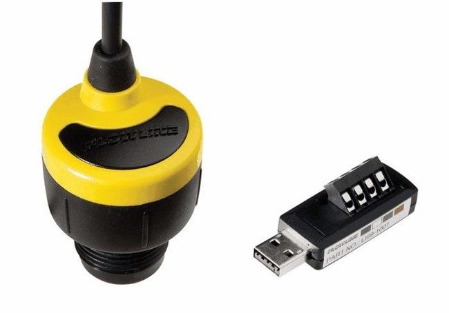 Cole-ParmerFlowline DL14-01 EchoPod Level Switch with FOB USB Interface