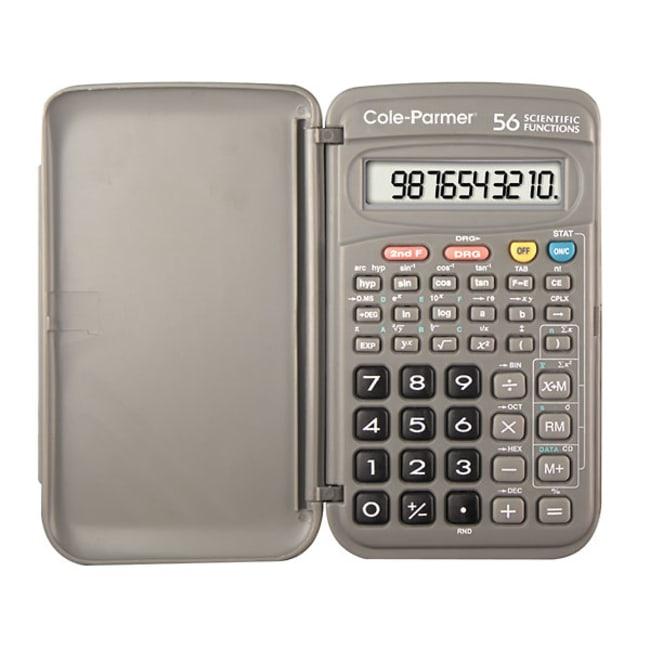 Cole-ParmerCole-Parmer 56-Function Scientific Calculator