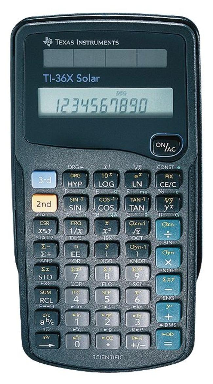 Cole-ParmerTexas Instruments TI-36X Pro Scientific Calculator, Solar Powered