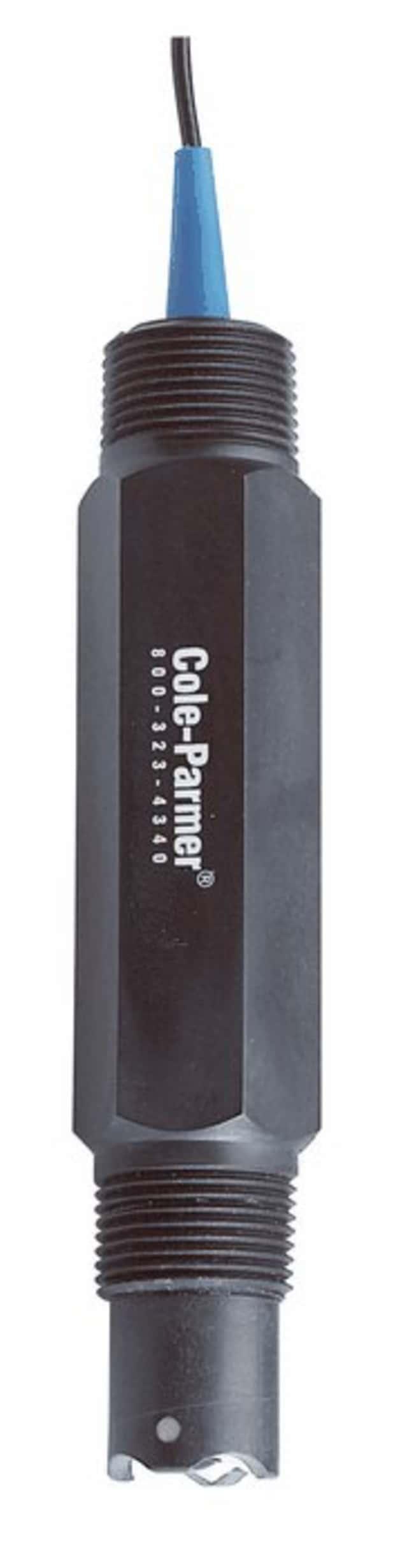 """Cole-ParmerCole-Parmer Tuff-Tip pH Electrode, No ATC, BNC, 3/4"""""""