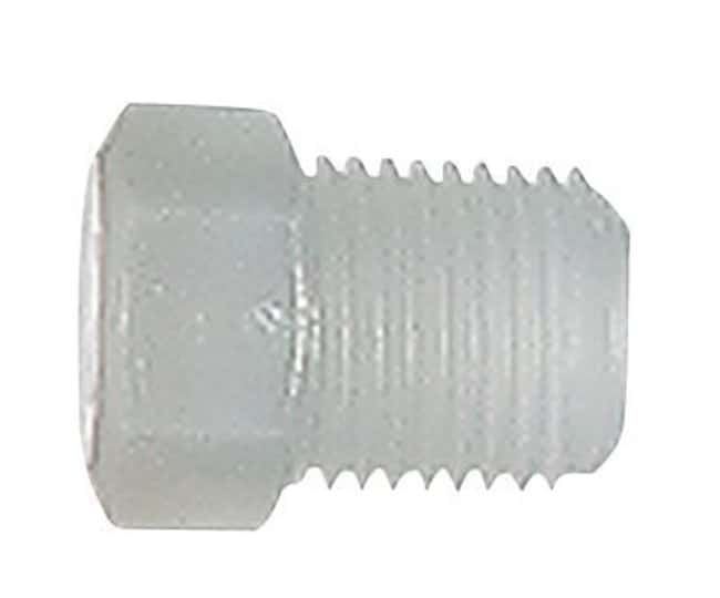 Cole-ParmerParker Hannifin Fitting, PFA, Straight, Threaded Plug, 1/8""