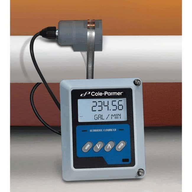 Cole-ParmerMasterflex Doppler Ultrasonic Flow Monitor, LCD and Dual, 4