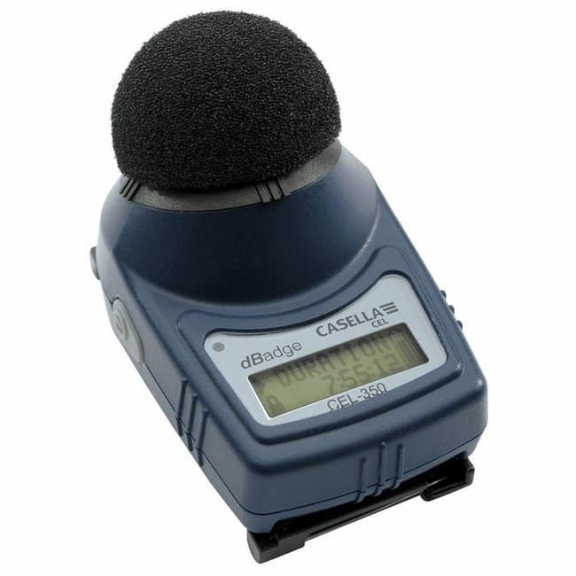 Cole-ParmerCasella CEL-350 Casela Individual Micro Noise Badge, with Mounting
