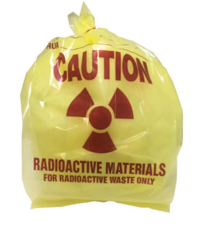Research Products International CorpRadioactive Waste Disposal Bags, 3