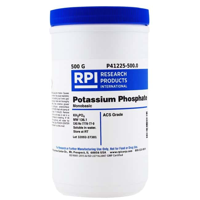 Research Products International CorpPOTASSIUM PHOSPHATE, MONOBASIC, ACS,