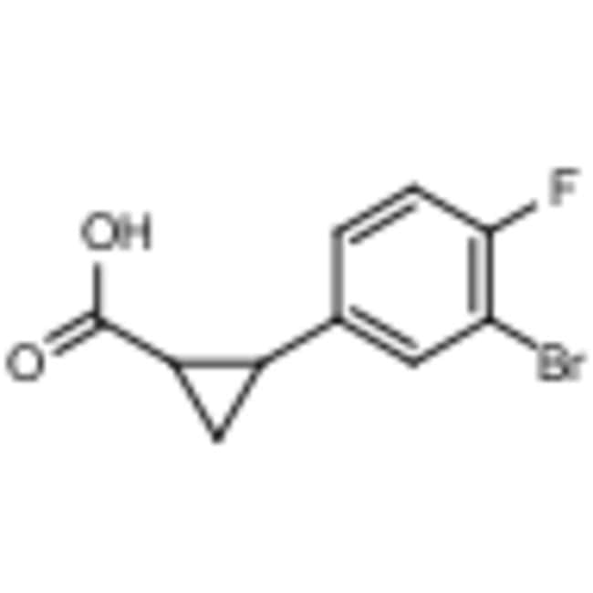 Frontier Scientific 1g 2-(3-bromo-4-fluorophenyl)cyclopropanecarboxylic