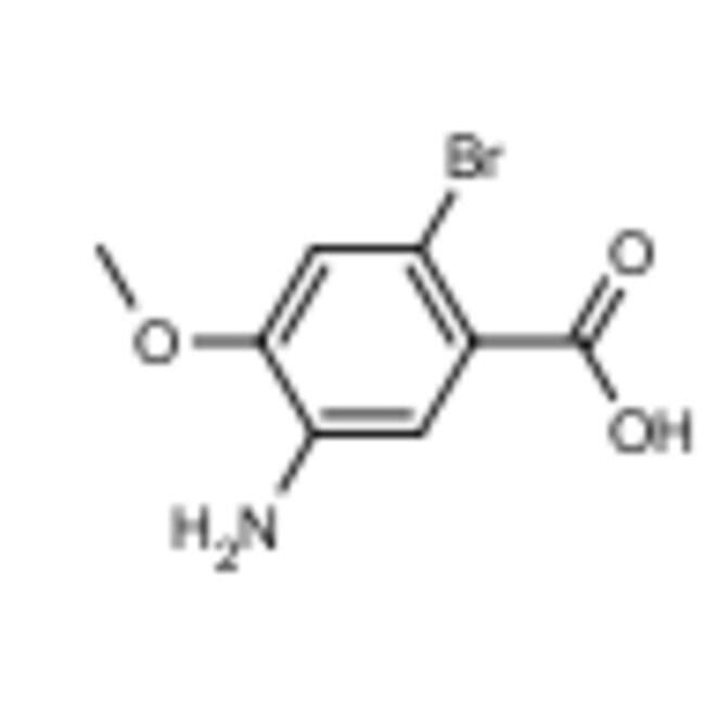Frontier Scientific 10g 5-amino-2-bromo-4-methoxybenzoic acid, 1208075-56-2