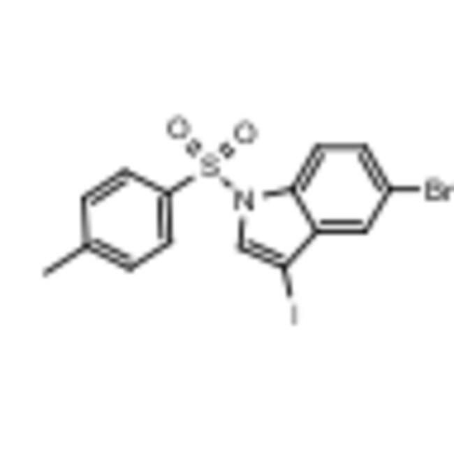 Frontier Scientific 500mg 5-bromo-3-iodo-1-tosyl-1H-indole, 142688-28-6