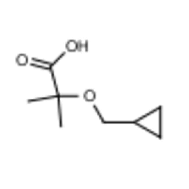 Frontier Scientific 5g 2-(cyclopropylmethoxy)-2-methylpropanoic acid, 1250535-65-9