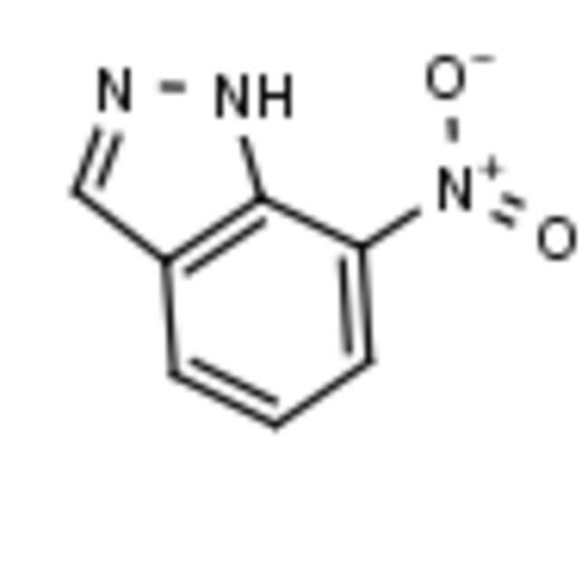 Frontier Scientific 5g 7-nitro-1H-indazole, 2942-42-9 MFCD00022789  7-NITRO-1H-INDAZOLE5G
