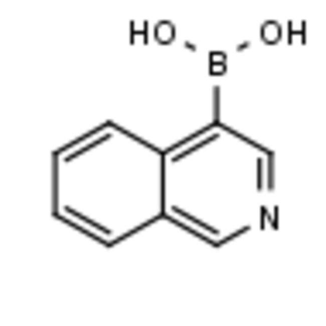Frontier Scientific 5g Isoquinoline-4-boronic acid, 97%, 192182-56-2 MFCD03412093