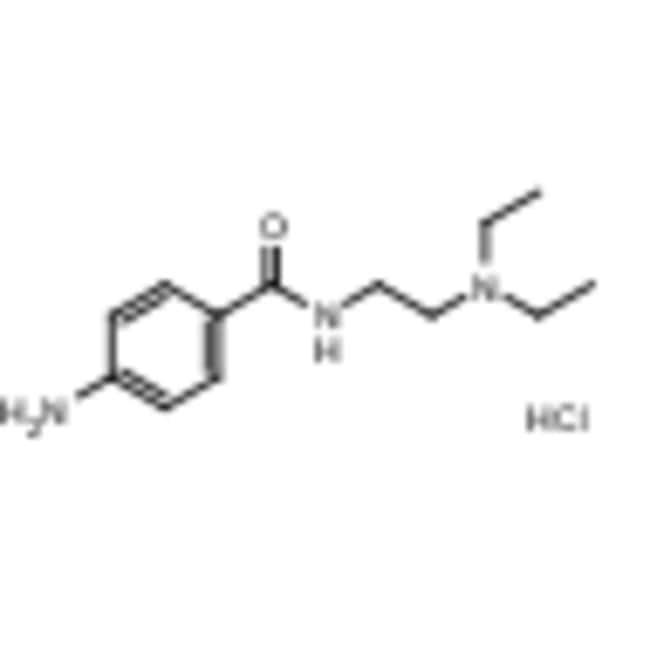 Frontier Scientific 100g Procainamide hydrochloride, 99%, 614-39-1 MFCD00012998