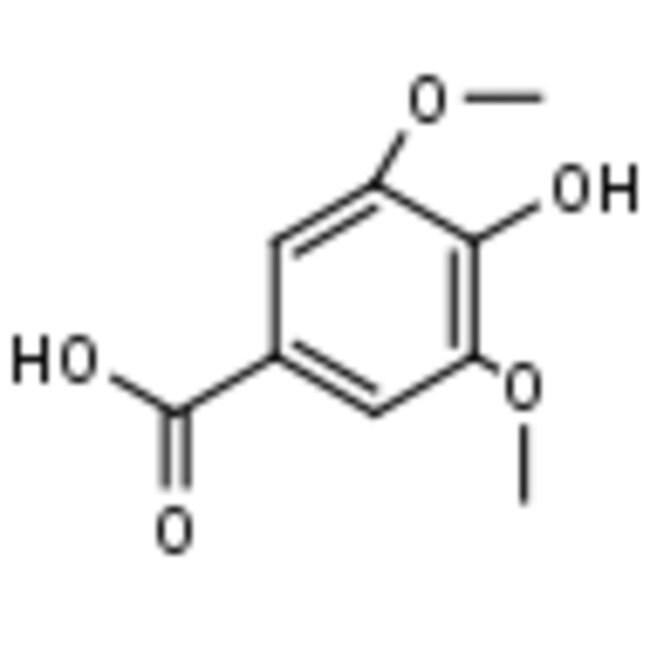 Frontier Scientific 5g 4-Hydroxy-3,5-dimethoxybenzoic acid, 98%, 530-57-4