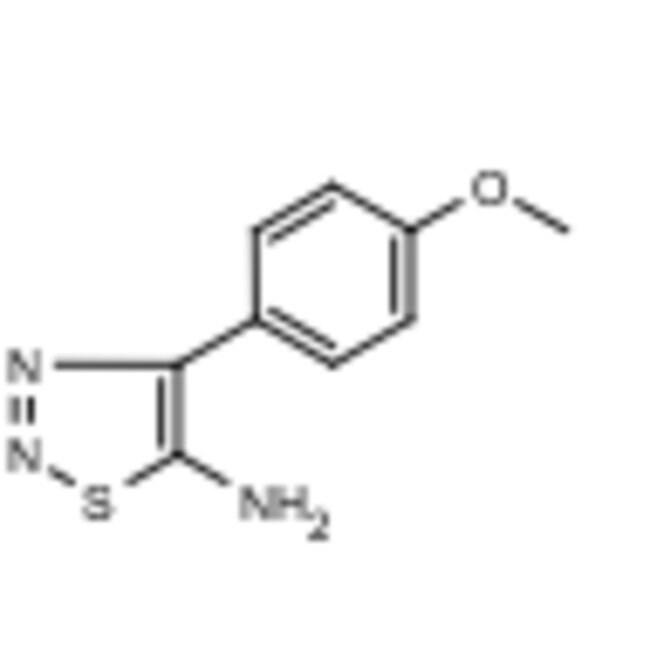 Frontier Scientific 1g 4-(4-Methoxyphenyl)-1,2,3-thiadiazol-5-amine, 97%,