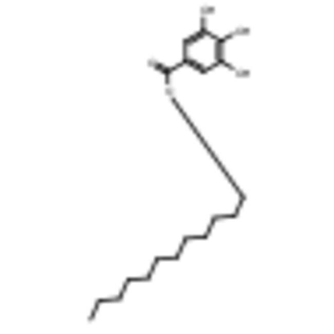Frontier Scientific 25g Lauryl gallate, 98%, 1166-52-5 MFCD00002195  LAURYL