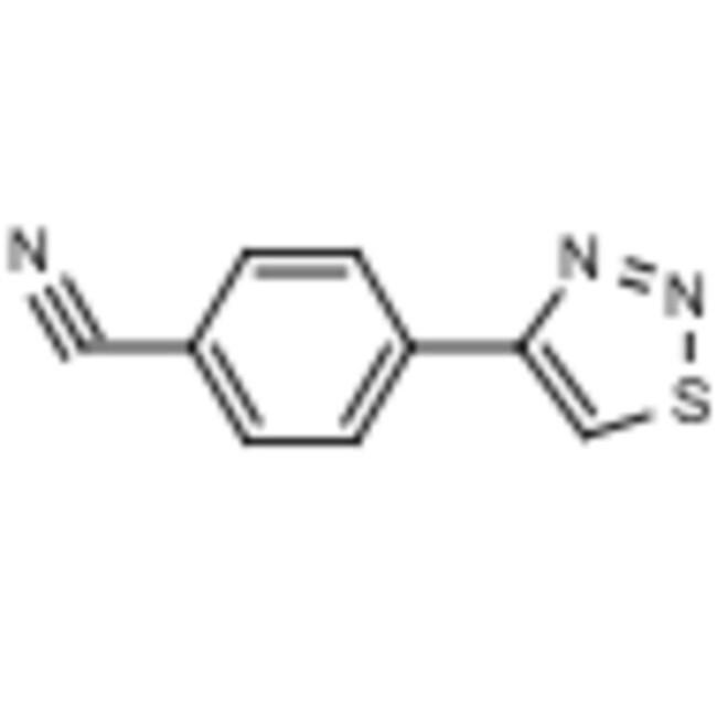 Frontier Scientific 5g 4-(1,2,3-Thiadiazol-4-yl)benzonitrile, 97%, 82894-99-3