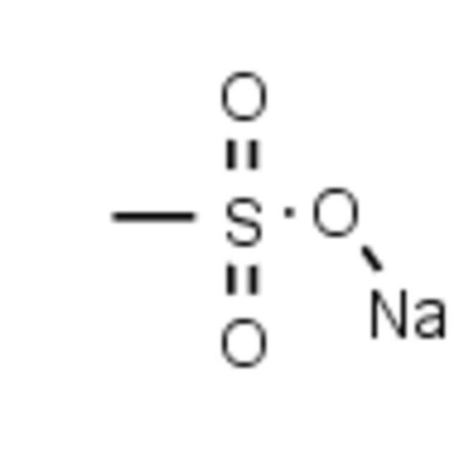 Frontier Scientific 100g Methanesulfonic acid sodium salt, 98%, 2386-57-4