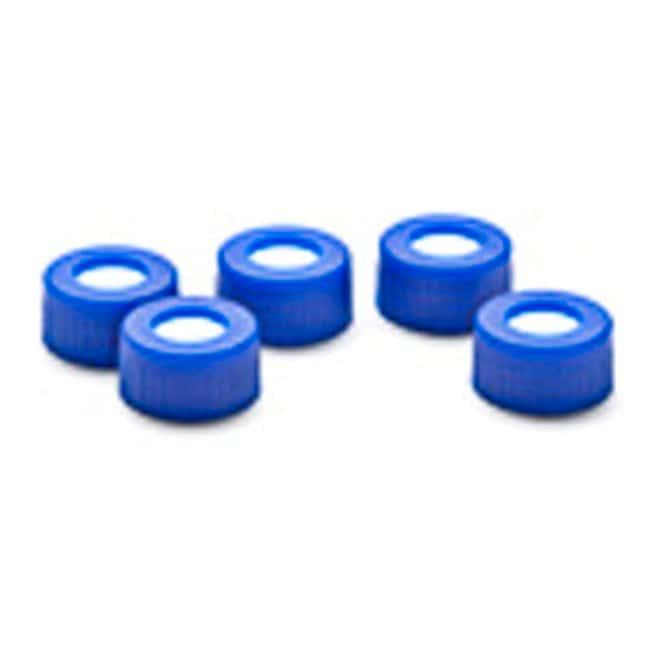 Leap PAL PartsCap Blue Screw 9mm Septa PTFE/Silicone, 100 Pack
