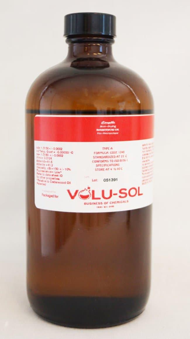 Volu SolImmersion Oil, Type A (Low Viscosity), 16 oz / 500 mL, Volu-Sol