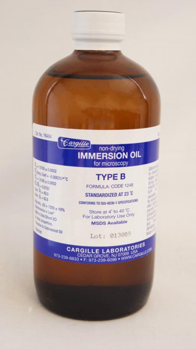 Volu SolImmersion Oil, Type B (High Viscosity), 16 oz / 500 mL, Volu-Sol