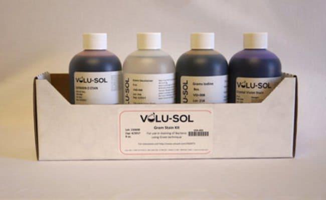 Volu SolGram Stain Kit, 8 oz / 250 mL, Volu-Sol