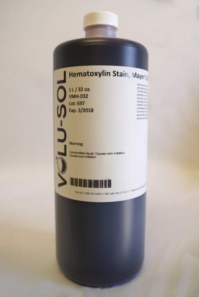 Volu SolHematoxylin Stain, Mayer's (Lillie's Modification), 32 oz / 1 L,