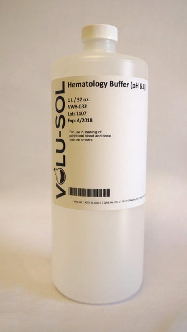 Volu SolHematology Buffer (pH 6.8), 128 oz / 3.78 L, Volu-Sol