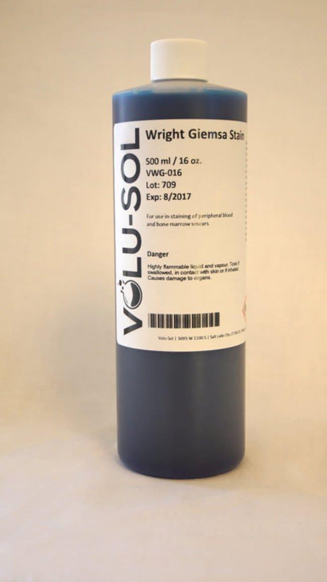 Volu SolWright-Giemsa Stain, 16 oz / 500 mL, Volu-Sol