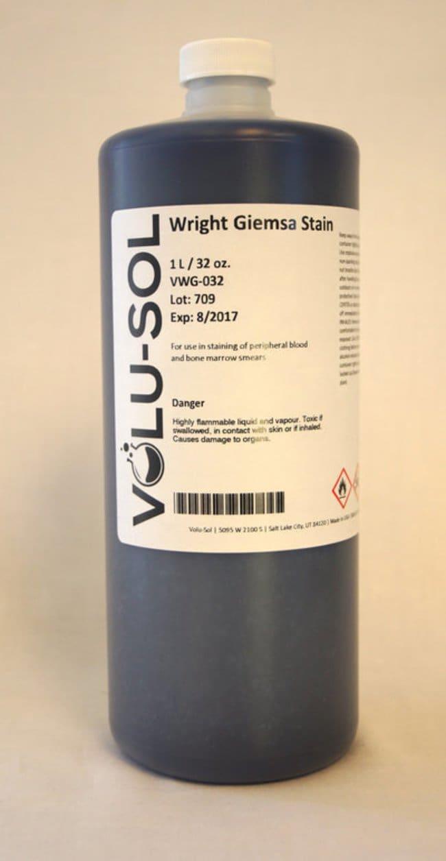 Volu SolWright-Giemsa Stain, 32 oz / 1 L, Volu-Sol