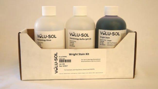 Volu SolWright Stain Kit, 8 oz / 250 mL, Volu-Sol