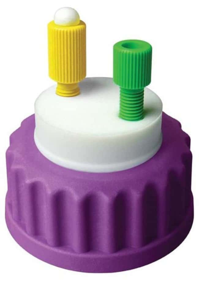 Analytical Sales Canary-Safe Cap I, GL45, 1 Standard Tubing Port