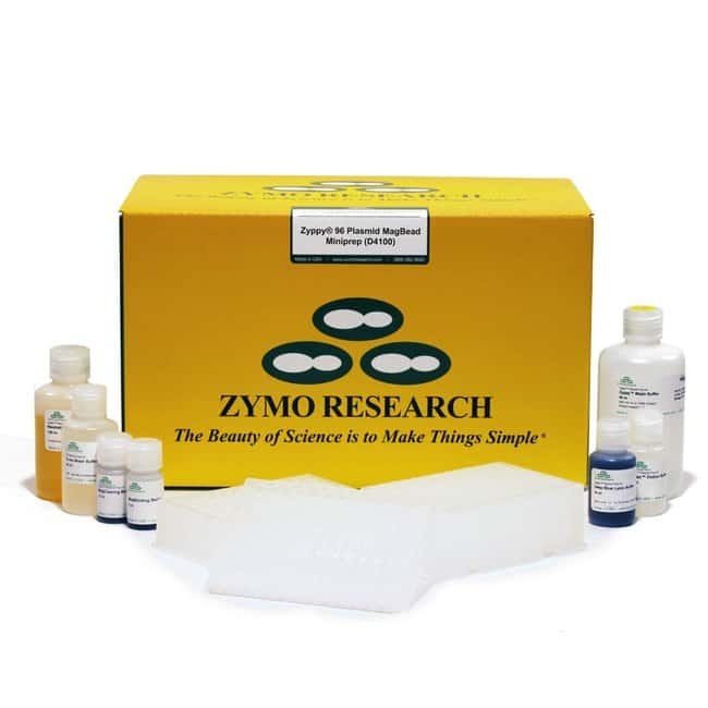 Zymo Research Corporation Zymopure Plasmid Miniprep Kit: Zymo Research Corporation Zyppy-96 Plasmid MagPrep Kit, 2