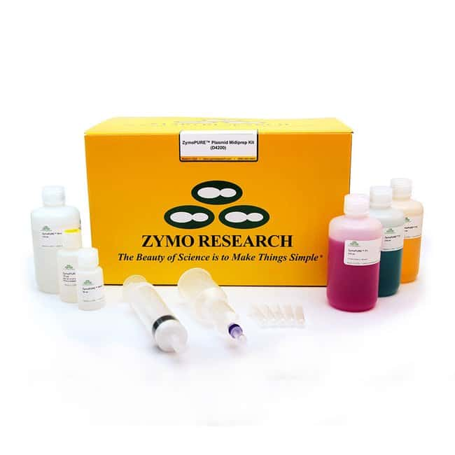 Zymo Research Corporation Zymopure Plasmid Miniprep Kit: Zymo Research Corporation ZymoPURE II Plasmid Midiprep Kit