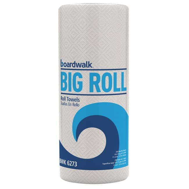 EssendantHousehold Perforated Paper Towel Rolls, 2-Ply, 11 x 8.5, White,