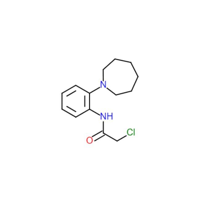 Matrix ScientificN-(2-Azepan-1-yl-phenyl)-2-chloro-acetamide, 436087-22-8,