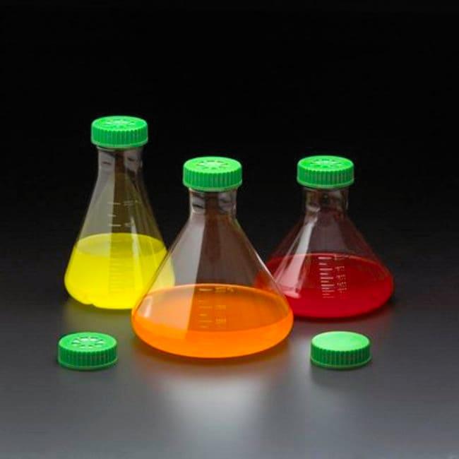Quality Biological Inc3L Fernbach Flask with Vent Cap, Plain Bottom, Sterile