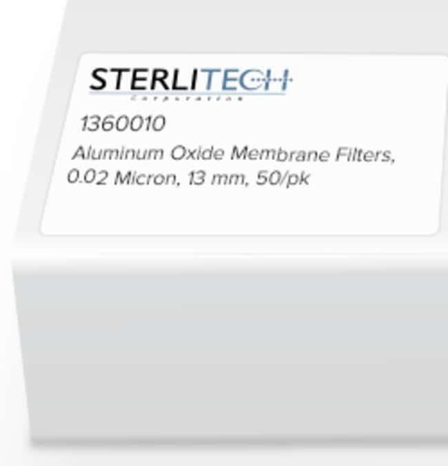 Sterlitech Corporation Aluminum Oxide Membrane Filters, 0.02 Micron, 13mm,
