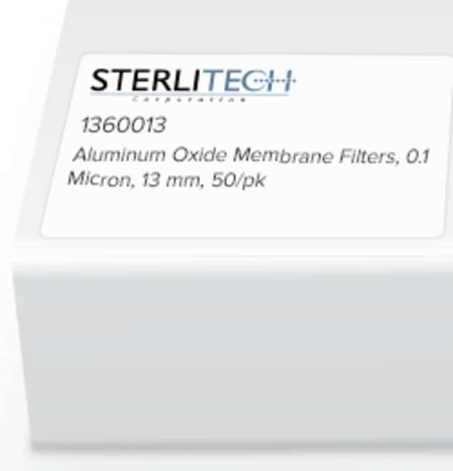 Sterlitech Corporation Aluminum Oxide Membrane Filters, 0.1 Micron, 13mm,