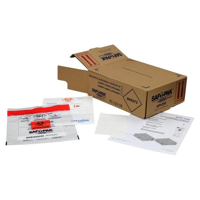 Saf T Pak IncSTP-250 - Category B Ambient Shipping System (UN 3373), Medium