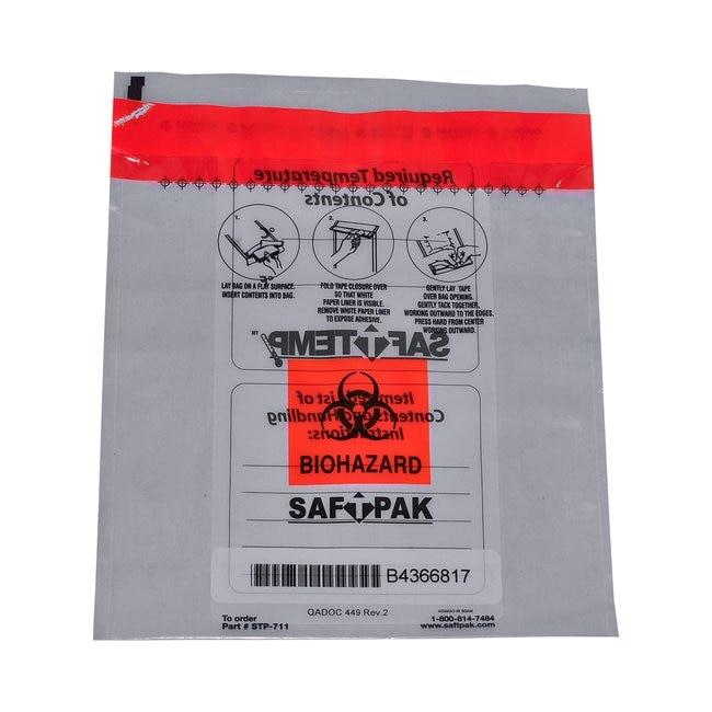 Saf T Pak IncSTP-711 - Inner Leak Proof Poly Bag Only