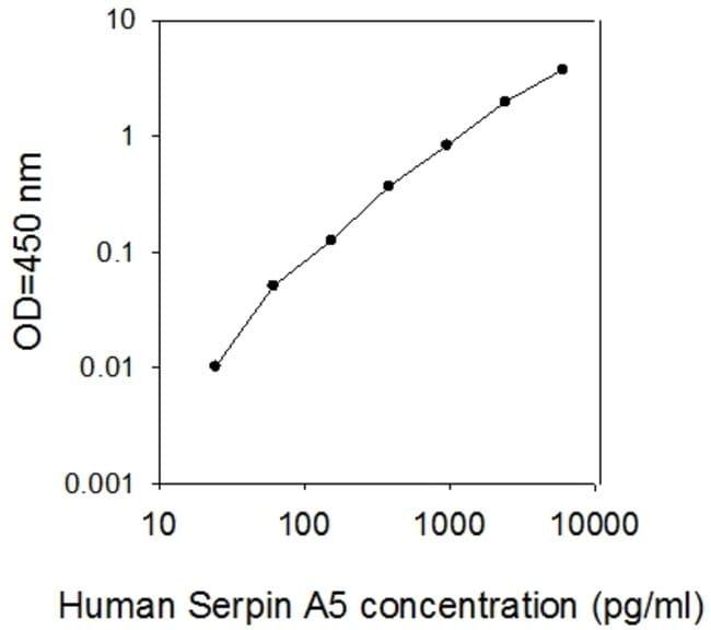 Raybiotech Inc Human Serpin A5/Protein C Inhibitor ELISA Kit  ELISA KIT