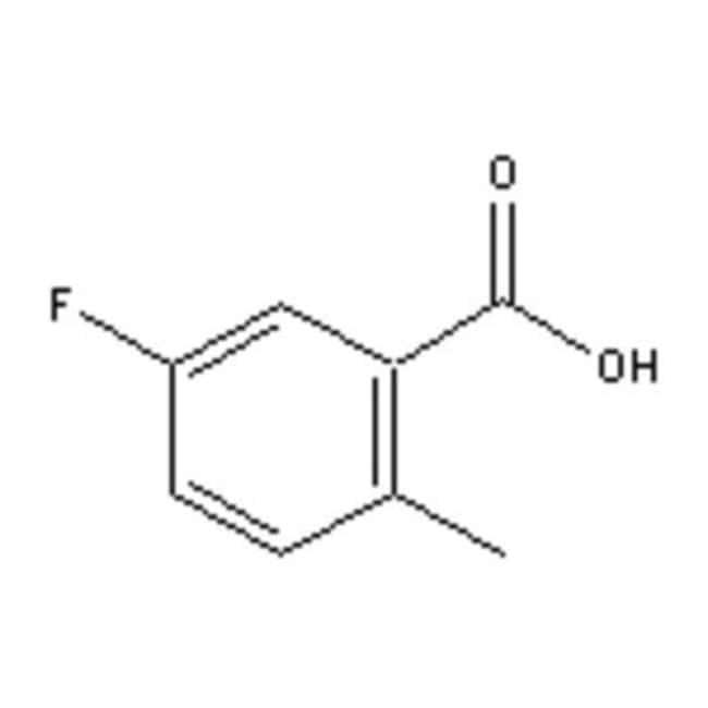 Accela Chembio Inc 5-FLUORO-2-METHYLBENZOIC  25G  5-FLUORO-2-METHYLBENZOIC
