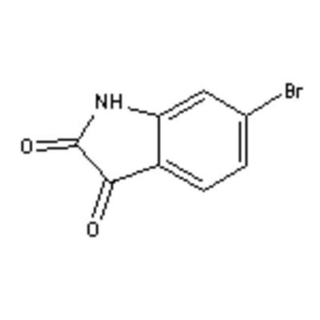 Accela Chembio Inc 6-Bromoisatin, 6326-79-0, MFCD01631138, 25 g  6-BROMOISATIN