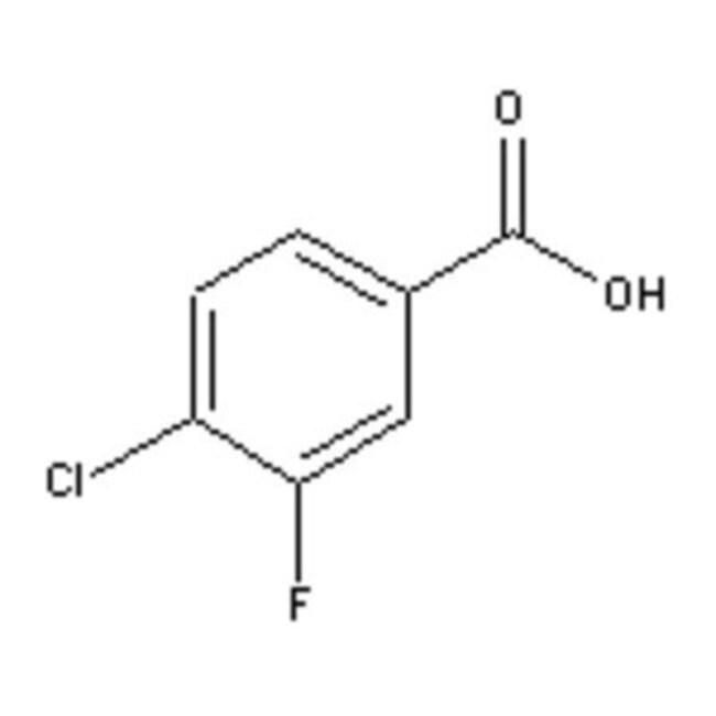 Accela Chembio Inc 4-CHLORO-3-FLUOROBENZOIC  25G  4-CHLORO-3-FLUOROBENZOIC