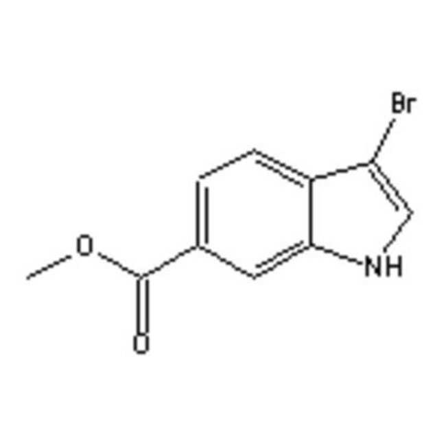 Accela Chembio Inc METHYL 3-BROMOINDOLE-6-CA 1G  METHYL 3-BROMOINDOLE-6-CA
