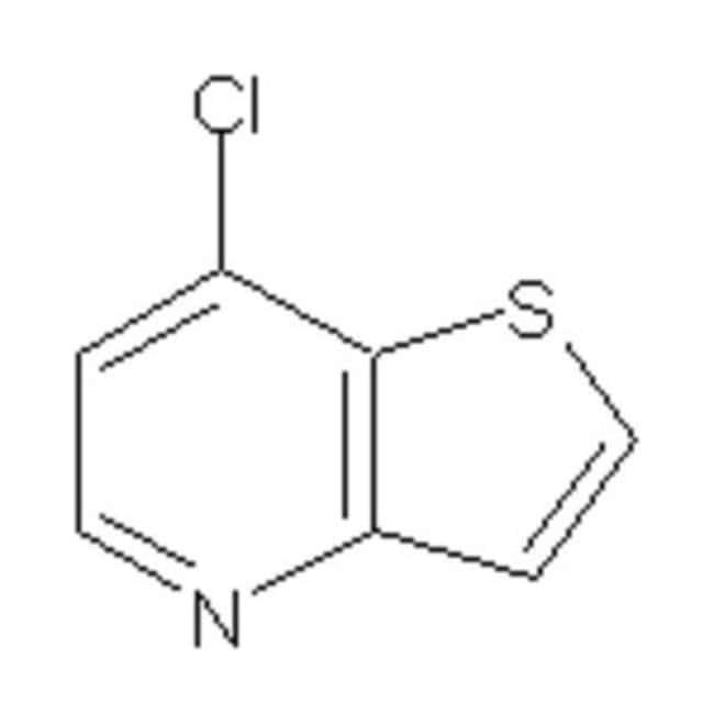 Accela Chembio Inc 7-CHLOROTHIENO 3,2-B PYRI 1G  7-CHLOROTHIENO 3,2-B PYRI