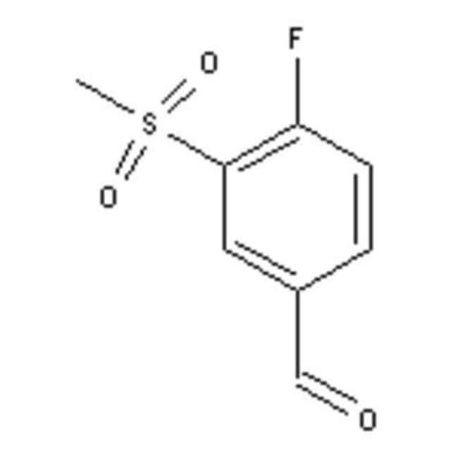 Accela Chembio Inc 4-FLUORO-3-(METHYLSULFONY 1G  4-FLUORO-3-(METHYLSULFONY