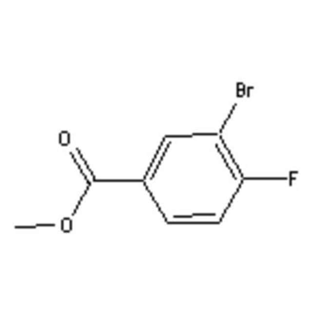 Accela Chembio Inc METHYL 3-BROMO-4-FLUOROBE 5G  METHYL 3-BROMO-4-FLUOROBE