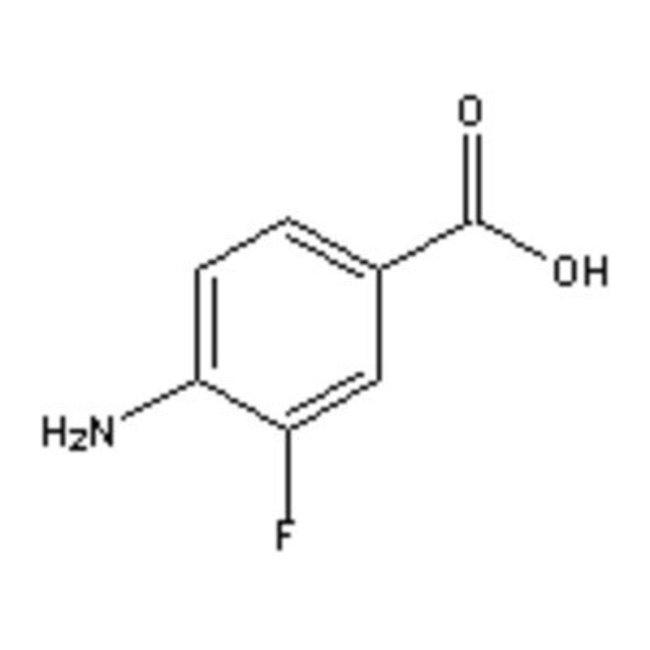 Accela Chembio Inc 4-AMINO-3-FLUOROBENZOIC A 25G  4-AMINO-3-FLUOROBENZOIC